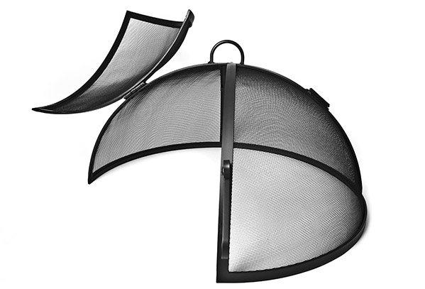 Fire Pit Spark Safety Screens Yard