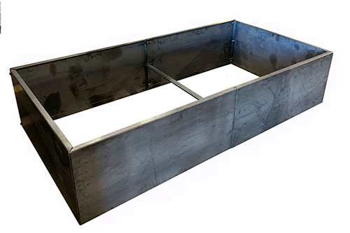 Raised Metal Rectangle Planter Bed - DIY